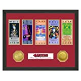 San Francisco 49ers Framed Super Bowl Tickets and Coins