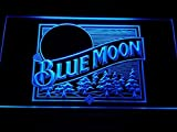 A167-b Blue Moon Beer Bar Pub Logo Neon Light Sign, Model: 492512124, Outdoor & Hardware Store