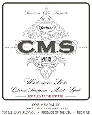 2014 CMS Columbia Valley Red 750 mL Wine from Hedges Family Estate