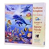 SunsOut Seahorse Kingdom 1000 Large Piece Jigsaw Puzzle