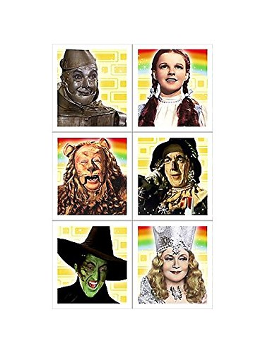 Wizard of Oz Stickers (4 sheets)