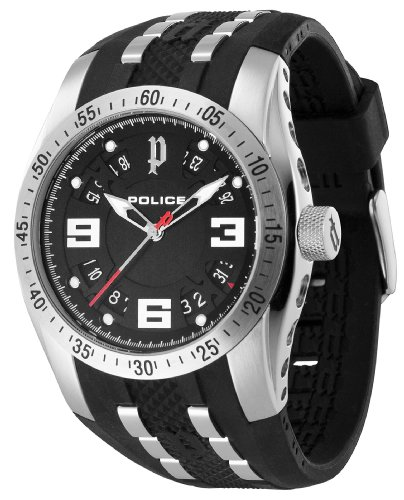 Police Men's Topgear X Watch 12892JS/02 with Black Dial
