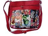 Good Life Stuff Printed Design Sling Bag in Red For Women (GLSSL-R004)