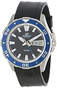 "Casio Men's EFM100-1AV ""Edifice"" Stainless Steel Watch"