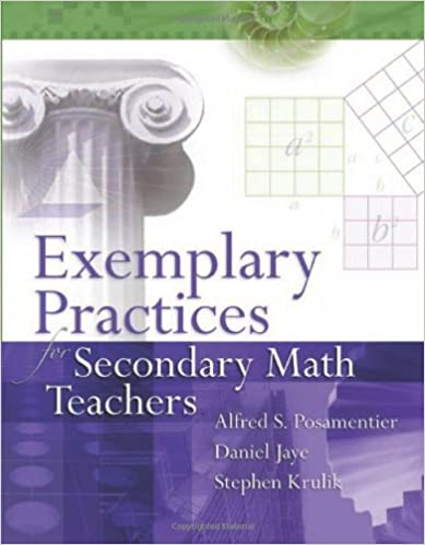 Book cover: exemplary practices for secondary math teachers