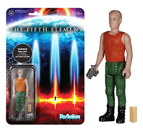 Fifth Element Korben Dallas ReAction 3 3/4-Inch Retro Action Figure