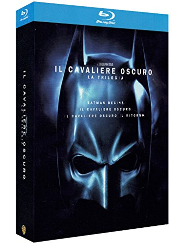 The dark knight trilogy [Blu-ray] [IT Import]