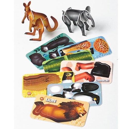 Costumes 204244 0.25 x 1.25 Animal Puzzles - 1