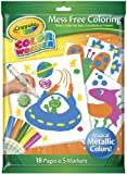 Crayola Color Wonder Metallic Coloring Pad and Markers