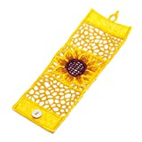 Fabric Sunflower Cuff
