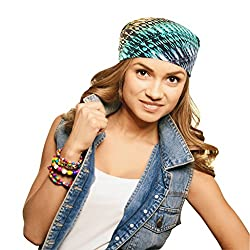Alphaman Makeover for Women, Keepin It Real Bandana (Green)