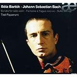 Bach : Fantaisie & Fugue Bwv542. Suite Bwv822 ; Bartok : Sonate Pour Violon Seul