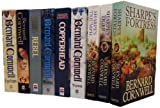 Bernard Cornwell Bernard Cornwell Collection 9 Books Set Pack RRP £ 68.91 ( Heretic, Vagabond, Harlequin, Copperhead, Rebel, Gallows Thief, Sharpe's Tiger, Sharpe's Fortress, Sharpe's Triumph) (Bernard Cornwell Collection)