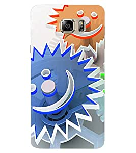 ColourCraft Creative Watch Pattern Design Back Case Cover for SAMSUNG GALAXY NOTE 6