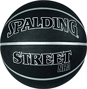 Spalding NBA Street Basketball - Black, Size 7