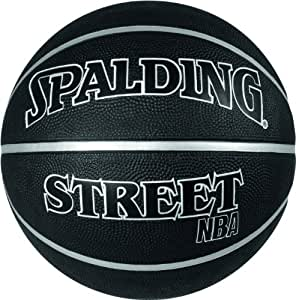 Spalding NBA Street Black Design Ballon de basketball mixte adulte Noir 7