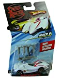 Speed Racer Mach 6 w/ jump jacks- Hot Wheels character model car .