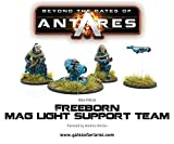 Beyond The Gates Of Antares, Freeborn Support Team with Mag Light support