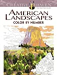 American Landscapes Color by Number C...