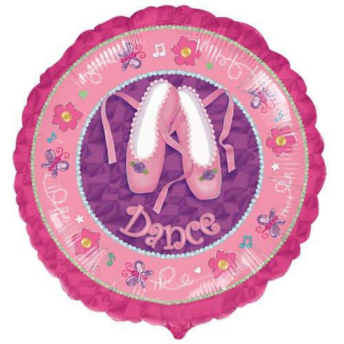 """Dance"" Ballet Shoes 18"" Mylar Balloons Recital Ballerina Party"
