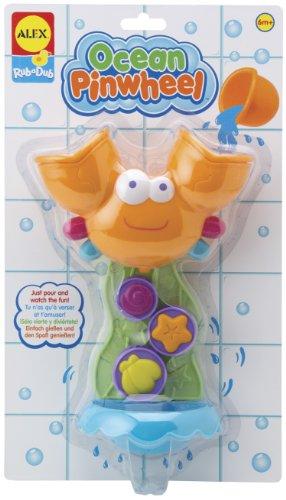 ALEX Toys Rub a Dub Ocean Pinwheel - 1