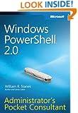 Windows PowerShell™ 2.0 Administrators Pocket Consultant: Administrator's Pocket Consultant