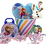 Disney's Frozen Easter Basket with Candy and Magnet