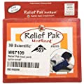 "Relief Pak 11-1314 Spine Small Hot Pack, 18"" Length x 10"" Width"