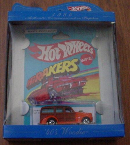 Hot Wheels 1980 Commemorative Replica HiRakers '40s Woodie - 1