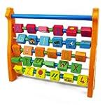 Wooden Toys Wooden Alphabet Giraffe A...