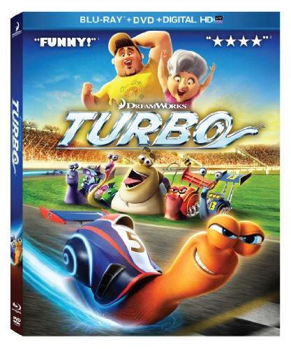 Turbo (Blu-ray / DVD Combo Pack)