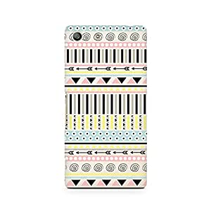 Motivatebox- Tribal Chic01 Premium Printed Case For Sony Xperia M5 -Matte Polycarbonate 3D Hard case Mobile Cell Phone Protective BACK CASE COVER. Hard Shockproof Scratch-