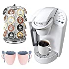 Keurig 20217 K45 Elite Premium Coffee System + 28 K-Cup Carousel + Accessory Kit
