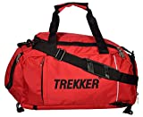#9: Trekker Poly Nylon 37.125 Liters Red Gym Tote