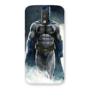 Ajay Enterprises Blue Knight Walkes Back Case Cover for Motorola Moto G4 Plus