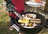 """Heat Guardian Heat Resistant Gloves - Protective Gloves Withstand Heat Up To 932℉ - Use As Oven Mitts, Pot Holders, Heat Resistant Gloves for Grilling - Features 5"""" Cuff for Forearm Protection"""