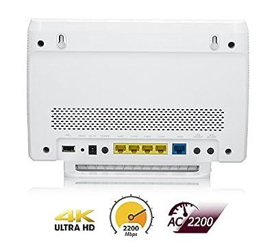ZyXEL AC2200 MU-MIMO Dual-Band Wireless Gigabit Router (NBG6815)