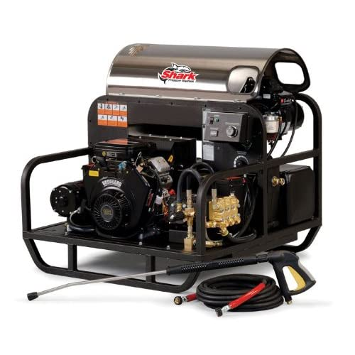 Image of Shark SSG-603537E/G 3,500 PSI 5.6 GPM Honda Gas Powered Hot Water Industrial Series Pressure Washer
