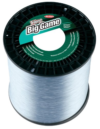 Berkley  Trilene Big Game Monofilament Custom Spool(60-Pound,Clear)