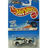 Hot Wheels 1998 First Editions #1 Of 48 Cars Escort Rally Collector #637 On Card Variation