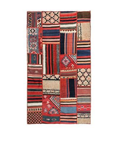 NAVAEI & CO. Tappeto Persian Old Kilim Patchwork Multicolore