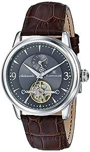 Earnshaw Men's ES-8003-02 Regency Analog Display Automatic Self Wind Brown Watch