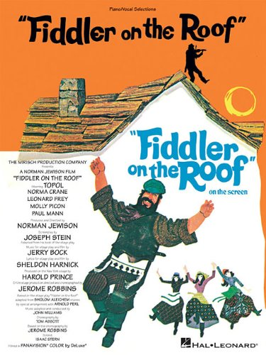 Fiddler on the Roof Vocal Selections088188541X