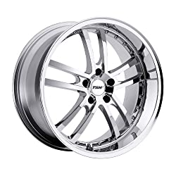 TSW Cadwell 20 Chrome Wheel / Rim 5×112 with a 20mm Offset and a 72 Hub Bore. Partnumber 2085CAD355112C72