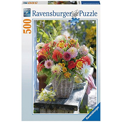 Ravensburger Beautiful Flowers Puzzle (500-Piece)
