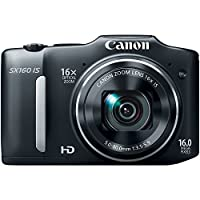 Canon PowerShot SX160 IS 14.1 MP Digital Camera from CANU9