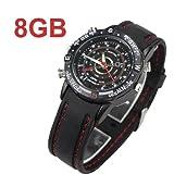 CredDeal 007 Sportsman Spion-Uhr (versteckte HD-Kamera, Mini DVR, 8 GB Flash, wasserdicht)