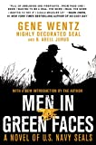 img - for Men in Green Faces: A Novel of U.S. Navy SEALs book / textbook / text book