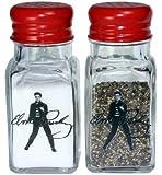 Elvis Presley Glass Salt & Pepper Shakers - 9050-16