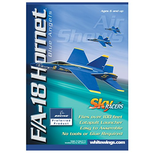 Sky Blue Flight F/A-18 Hornet Blue Angels Model Kit - 1